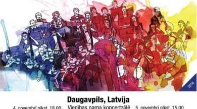 Daugavpilī notiks Latvijā pirmais Baltijas valstu jauniešu un amatieru simfonisko orķestru festivāls