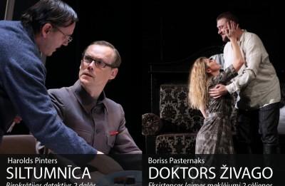 """Pēdējoreiz uz skatuves """"Doktors Živago"""" un """"Siltumnīca"""""""