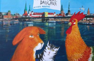 Alekseja Naumova ilustrāciju izstāde Pārventas bibliotēkā