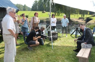 Simtgades programmā sāk filmēt Varis Brasla