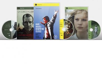 """DVD SĒRIJĀ """"LATVIJAS FILMA"""" TRĪS JAUNI IZDEVUMI -  """"MANS DRAUGS -  NENOPIETNS CILVĒKS"""", """"ES ESMU ŠEIT"""" UN """"PELNU SANATORIJA"""""""