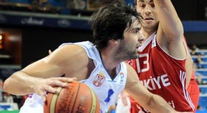 E grupa: Serbi drāmā nosargā uzvaru pret Turciju un iekļūst ceturtdaļfinālā