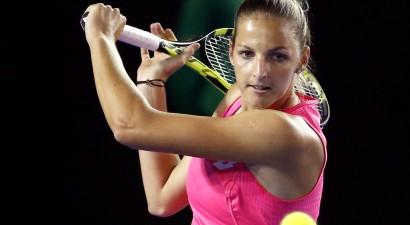 Kristīnai Pliškovai WTA rekords ar 31 eisu un neizmantotas piecas mačbumbas