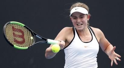 """Ostapenko Austrālijā pirmoreiz iekļūst """"Grand Slam"""" 3. kārtā"""