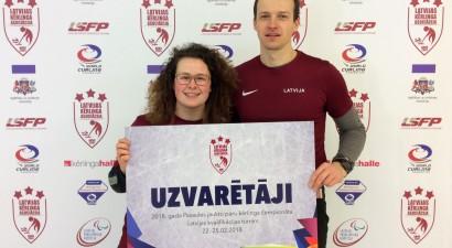 Santa Blumberga un Ritvars Gulbis pārstāvēs Latviju PČ kērlingā jauktajiem pāriem