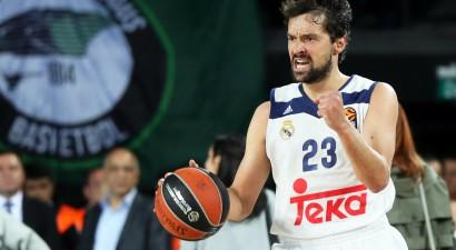 """Eirolīgas MVP Jujs gatavs doties laukumā """"Real"""" trešajā spēlē pret """"Panathinaikos"""""""