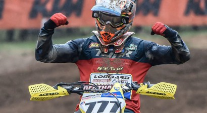 Krievu MXGP zvaigzne Bobriševs kļuvis par Anglijas čempionu