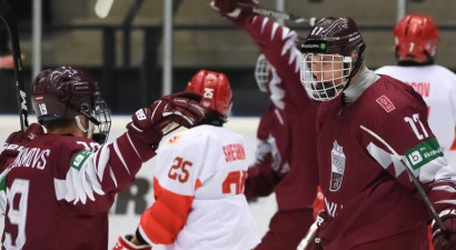 17 gadus vecais Latvijas U20 izlases uzbrucējs paraksta līgumu ar QMJHL komandu