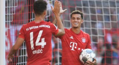 """Berlīnes """"Union"""" uzvar Dortmundi un gūst vēsturisku uzvaru"""