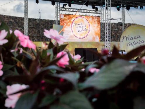 """Populāri dziedātāji aicina uz koncertu """"Mana vasaras melodija"""" Jelgavā"""