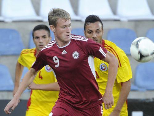 Eduards Višņakovs ir izsaukts uz Latvijas U23 izlasi