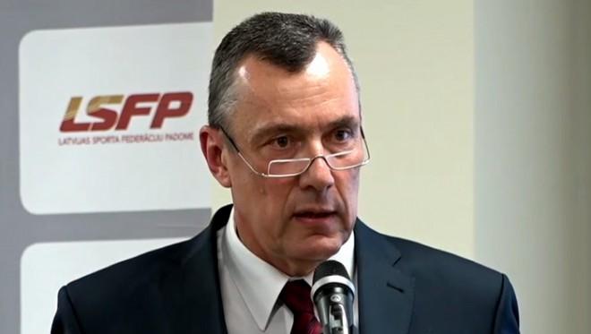 Fogelis ievēlēts par LSFP prezidentu uz vēl četriem gadiem