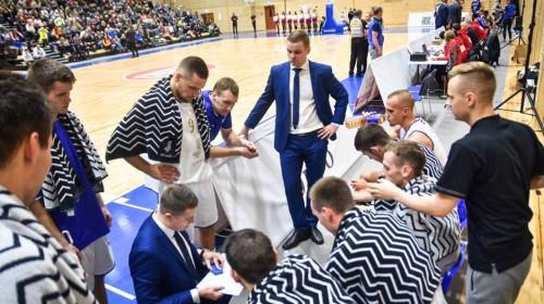 """Kārlim 23 punkti, """"Jūrmalai"""" 16 trāpīti tālmetieni un +25 pret Igaunijas vicečempioni"""