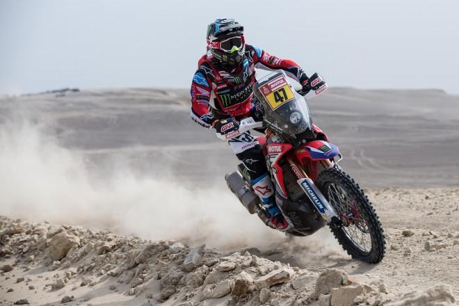Sainsam pirmā uzvara, 2015. gada Dakaras uzvarētājs salauž kāju