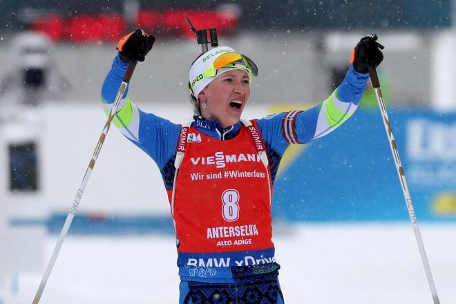 Četrkārtējā olimpiskā čempione Domračeva aiziet no biatlona
