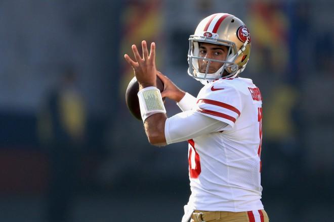 """""""49ers"""" septiņas pilnas spēles aizvadījušajam Garopolo piešķir NFL visu laiku lielāko līgumu"""