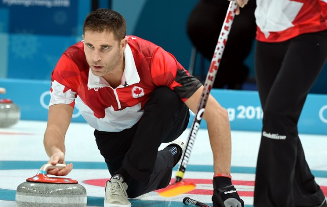Kanāda un Šveice cīnīsies par zeltu kērlingā jauktajiem pāriem