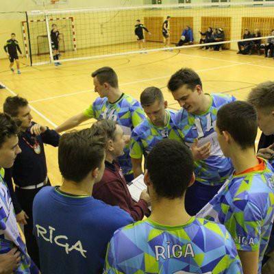 Rīgas Volejbola skola kļūst par Nacionālās līgas 2 čempioniem