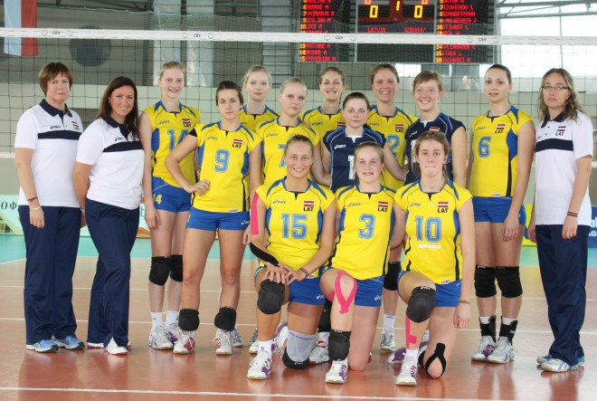 Latvijas sieviešu volejbola izlase pulcējas kopā, lai gatavotos Eiropas čempionāta kvalifikācijas spēlēm