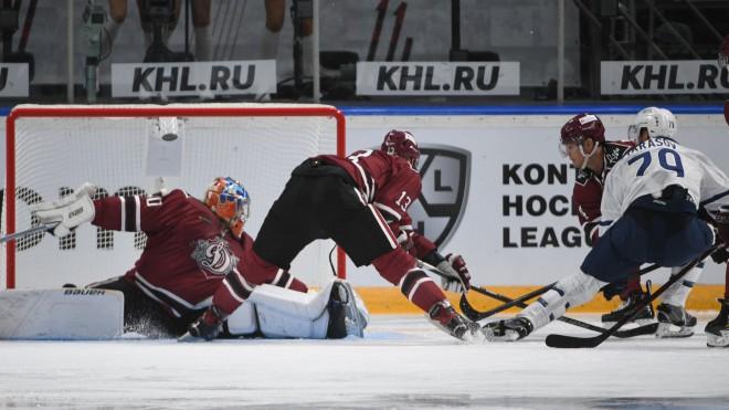 Tiešraide: Rīgas ''Dinamo'' - Maskavas ''Dynamo'' 4:2 (spēle galā)