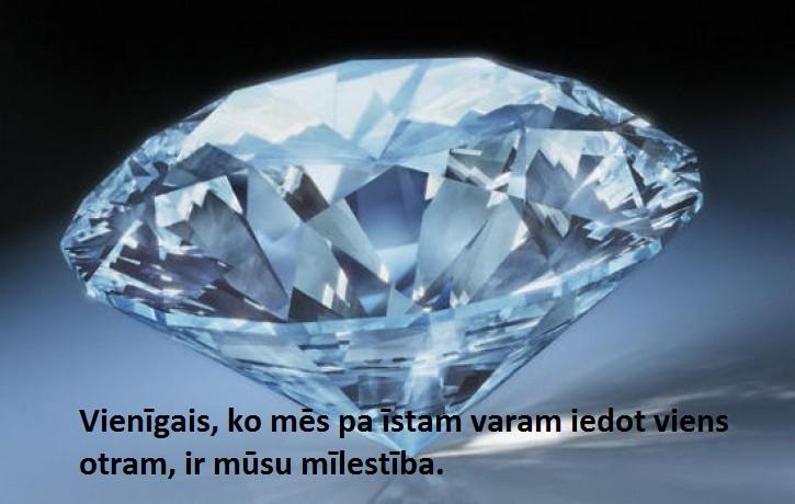5.janvāra dienas akmens- DIMANTS