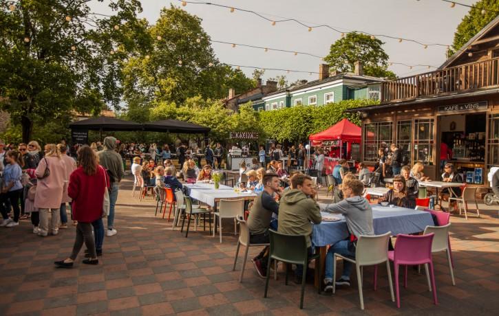 Internacionālais Street Food festivāls Kalnciema kvartālā augusta trešdienās