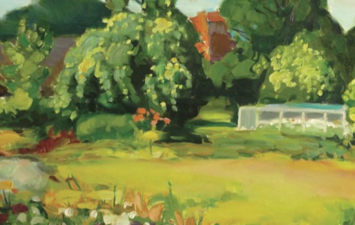"""Atklāta gleznotāja Jura Ģērmaņa izstāde """"Sievietes un daba"""""""