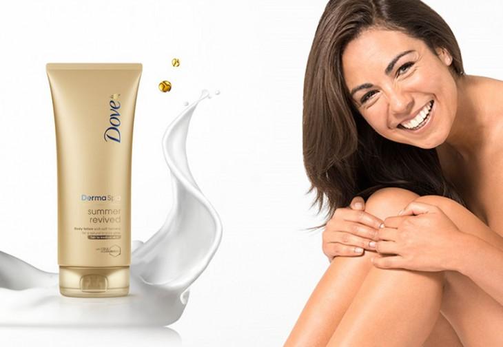 Dove  luksus klases produktu sērija – vasaras pieskāriens jūsu ādai