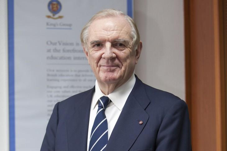 Britu nedēļas ietvaros uz semināru Latvijā ierodas prestižo skolu King's College dibinātājs Sers Rodžers Fraijs