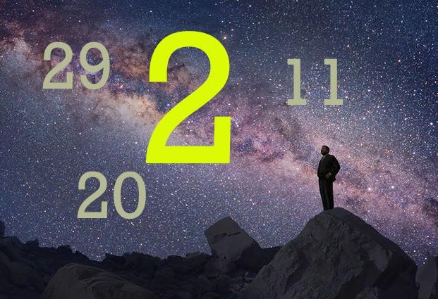 Numeroloģiskais raksturojums tiem, kas dzimuši 20., 11., 29., 2. datumos