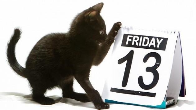 Trīspadsmitais, melnā piektdiena!? Ko šī diena mums sola