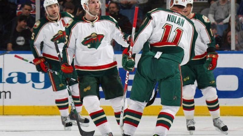 ''Wild'' hokejistiem nāksies pierast pie jaunā trenera Foto: Getty Images