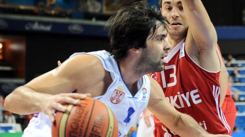 Milošs Teodosičs Foto: AFP/Scanpix