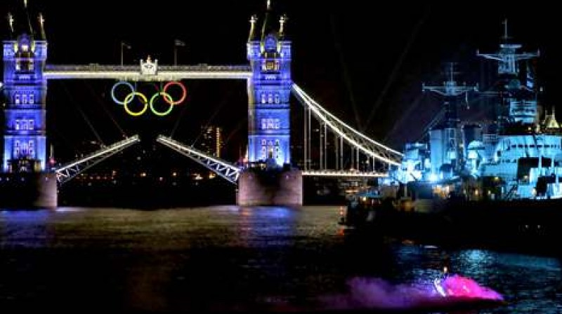 Olimpisko spēļu vakars Londonā Foto: AP / Scanpix