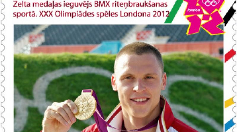 Māris Štrombergs Foto: Latvijas Pasts