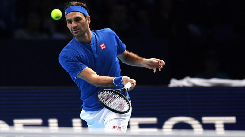 Rodžers Federers. Foto: EPA/Scanpix