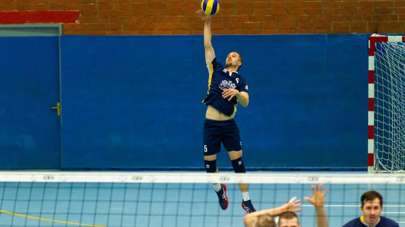 Armands Āboliņš Foto: Latvijas Volejbola federācija