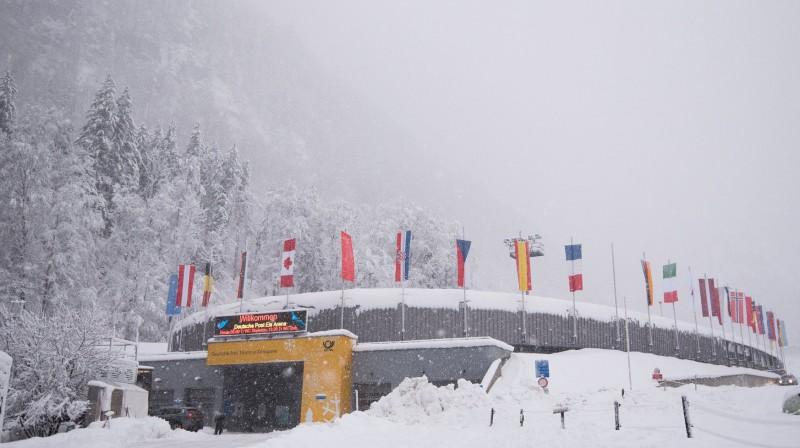 Sniegotā Kēnigszē. Foto: Viesturs Lācis/IBSF