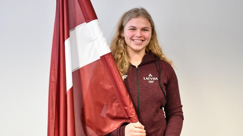 Betija Burkovska. Foto: Latvijas Olimpiskā komiteja