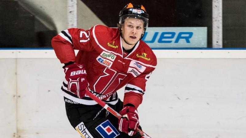 Rodrigo Ābols. FOTO: Örebro Hockey.