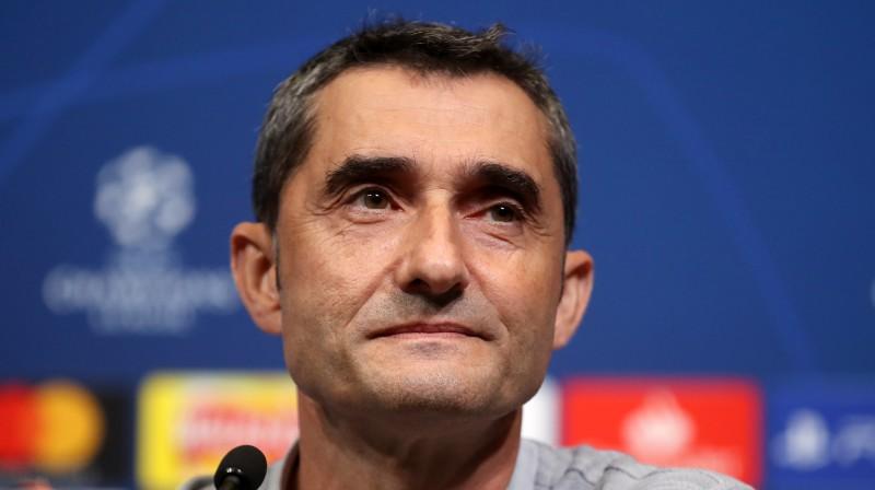 Ernesto Valverde. Foto: PA Wire/Scanpix