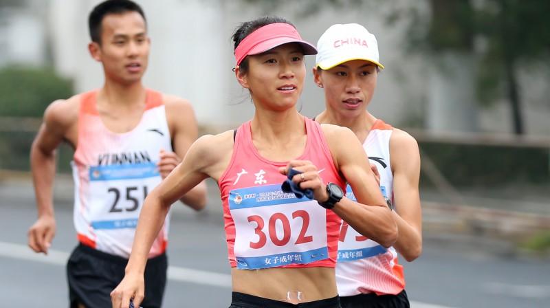 Liu Hona Ķīnas ''Grand Prix'' sacensībās Huanšanā. Foto: Scanpix/Zumapress.com