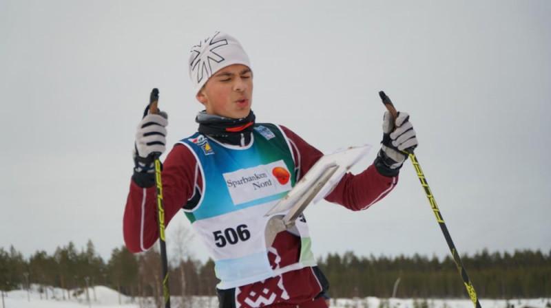 Nauris Raize. Foto: Latvijas Orientēšanās federācija