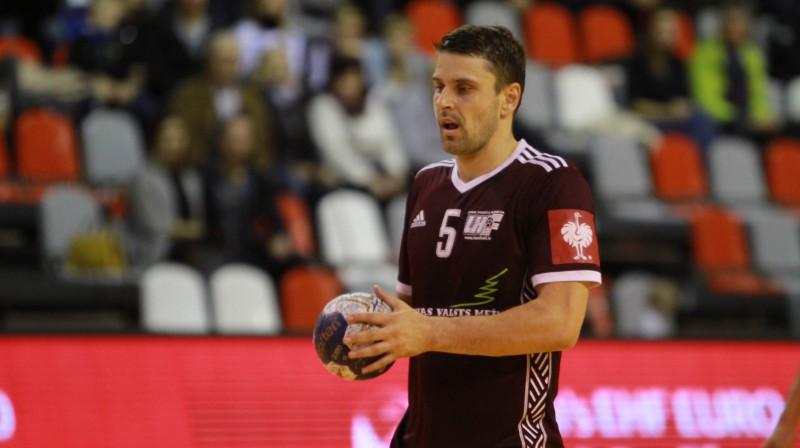 Māris Veršakovs. Foto: Sandra Škutāne/handball.lv