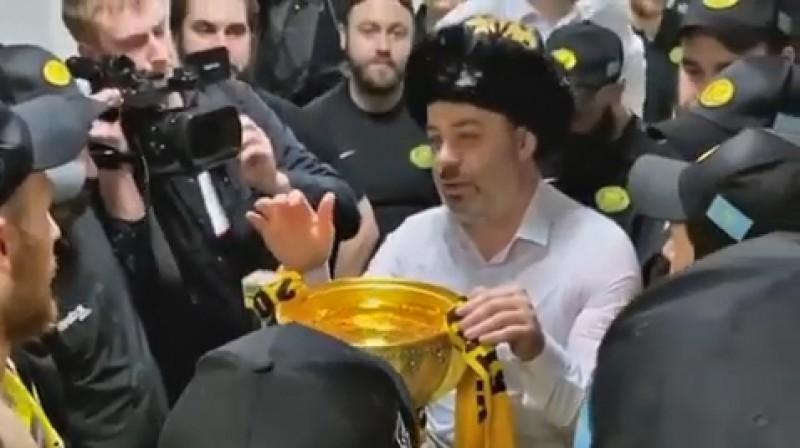 "Leonīds Tambijevs. Foto: Hockey club ""Saryarka"" Karaganda"