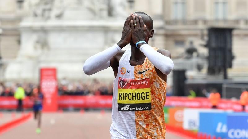 Eliuds Kipčoge. Foto: AFP/Scanpix