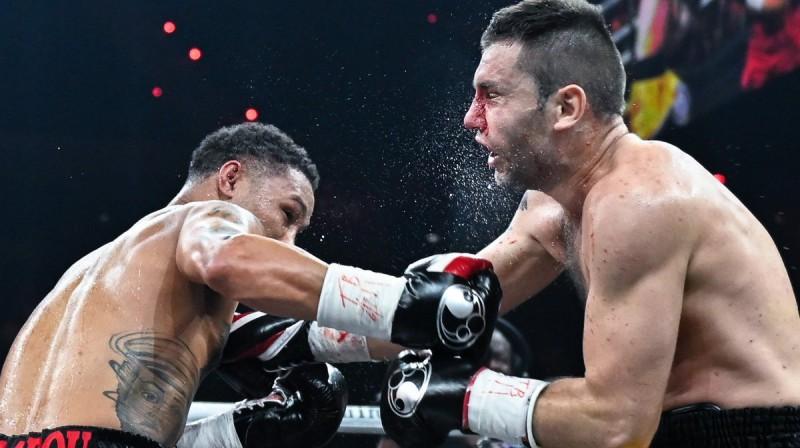 Redžiss Progreiss pret Kirilu Relihu. Foto: Pasaules boksa supersērija