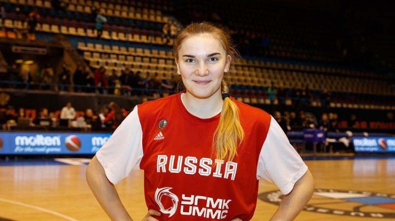 Marija Vadejeva. Foto: FIBA