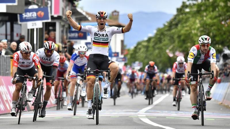 """""""Tour of Estonia"""" ir piedalījies vācietis Paskāls Akermans - """"Giro d'Italia"""" divu posmu uzvarētājs Foto: Scanpix/Zumapress"""
