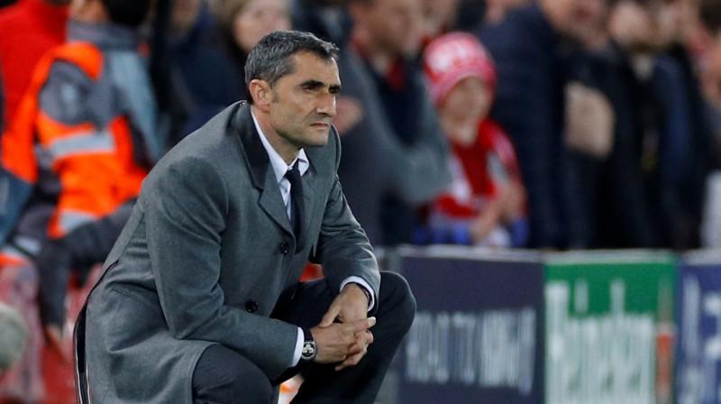Ernesto Valverde. Foto: Reuters/Scanpix